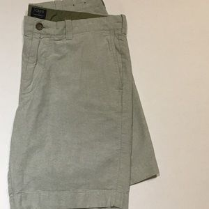 J crew oxford shorts men's 34 waist